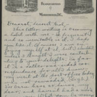 1917-12-16 Conger Reynolds to Daphne Goodenough Page 1