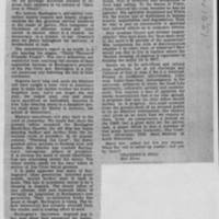 "1951-11-10 Burlington Hawkeye Gazette Letters: ""A Negro Point of View"" - ""Takes Editor To Task"""