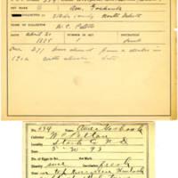 Thomas Wilmer Dewing, egg card # 217