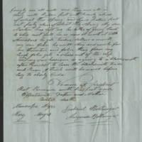 1849-04-24 Gabriel Billmire to Mannassa Meyers Page 2