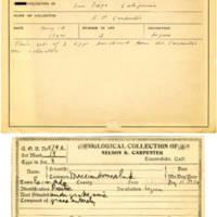 Thomas Wilmer Dewing, egg card # 376