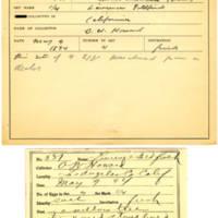 Thomas Wilmer Dewing, egg card # 428
