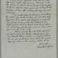 1945-06-08 Everette W. Squire to Dave Elder Page 2