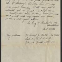 1945-07-23 Lt. David J Hotle to Dave Elder Page 2