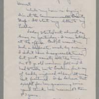 1943-01-11 Laura Davis to Lloyd Davis Page 1