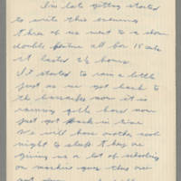 1942-08-18 Lloyd Davis to Laura Davis Page 1