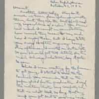 1942-10-23 Laura Davis to Lloyd Davis Page 1