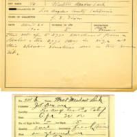 Thomas Wilmer Dewing, egg card # 406