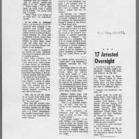 """1972-05-12 Iowa City Press-Citizen Article: """"""""I-80 Target of Organized Protesters"""""""" Page 2"""
