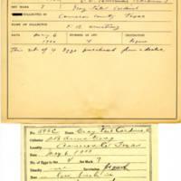 Thomas Wilmer Dewing, egg card # 738u