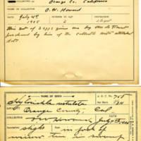 Thomas Wilmer Dewing, egg card # 832u