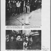 "1972-05-12 Iowa City Press-Citizen Article: """"Tear Gas Breaks Up 'Blockade for Peace'"""" Page 4"