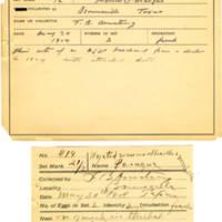 Thomas Wilmer Dewing, egg card # 312