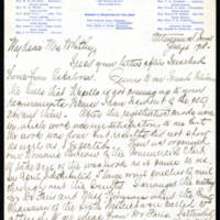 1918-07-06 Mrs. J. Hutchison to Mrs. Whitley Page 1