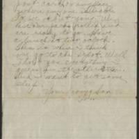 1918-09-15 Thomas Messenger to Mrs. N.H. Messenger Page 2