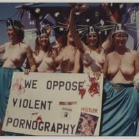 """We Oppose Violent Pornography"""
