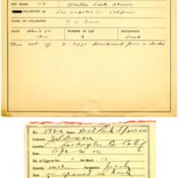 Thomas Wilmer Dewing, egg card # 439