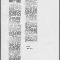 """1972-03-18 Des Moines Register Article: """"""""Dismiss Last Protest Cases"""""""""""