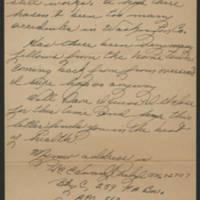 1945-09-10 Pfc. Eddie Prebyl to Dave Elder Page 4
