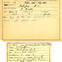 Thomas Wilmer Dewing, egg card # 361