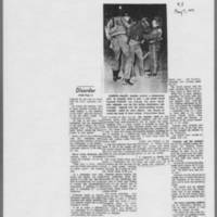 "1971-05-07 Iowa City Press-Citizen Article: """"Bomb Blast Damages Iowa City Civic Center"""" Page 4"