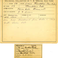 Thomas Wilmer Dewing, egg card # 048