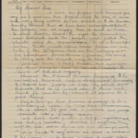 1918-11-18 Bedside notes Page 1