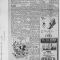 """1947-10-28 Burlington Hawk-eye Gazette: """"""""Atomic Perils, Benefits Told"""""""" Page 2"""