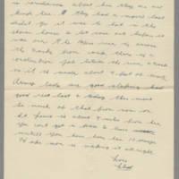 1942-07-06 Lloyd Davis to Laura Davis Page 2