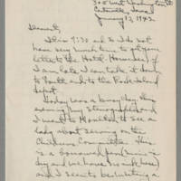 1942-01-13 Laura Davis to Lloyd Davis Page 1