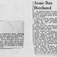 """""Atomic Data Distributed"""""