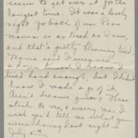 1918-07-08 Daphne Reynolds to Conger Reynolds Page 2