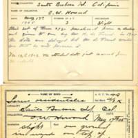 Thomas Wilmer Dewing, egg card # 036