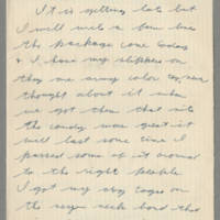 1942-08-28 Lloyd Davis to Laura Davis Page 1