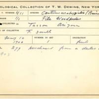 Thomas Wilmer Dewing, egg card # 300