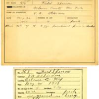Thomas Wilmer Dewing, egg card # 449