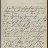 1917-09-17 Harvey Wertz to Miss Eloise Wertz Page 4