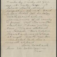 1918-09-02 Thomas Messenger to Mrs. Ress Wade Page 6