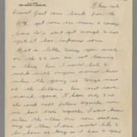 1942-10-29 Lloyd Davis to Laura Davis Page 1