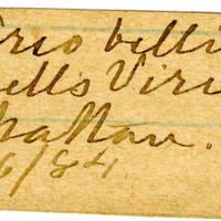 Clinton Mellen Jones, egg card # 360