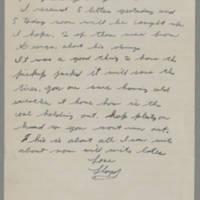 1943-02-02 Lloyd Davis to Laura Davis