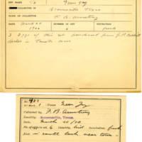 Thomas Wilmer Dewing, egg card # 390