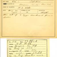 Thomas Wilmer Dewing, egg card # 801u