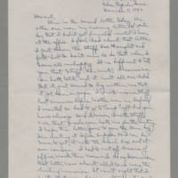 1942-12-11 Laura Davis to Lloyd Davis Page 1