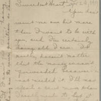 1919-04-24 Daphne Reynolds to Conger Reynolds Page 1