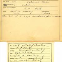 Thomas Wilmer Dewing, egg card # 734u
