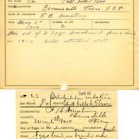 Thomas Wilmer Dewing, egg card # 050