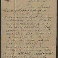 1919-04-02 Thomas Messenger to Mr. & Mrs. N.H. Messenger Page 1