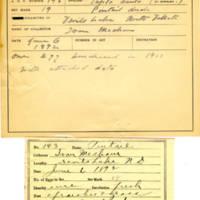 Thomas Wilmer Dewing, egg card # 107