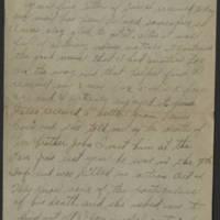 1919-01-17 Harvey Wertz to Miss Dorothy Wertz Page 1